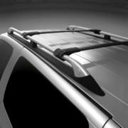 Chevrolet Uplander 2005-2009 - Поперечины под рейлинги к-т 2 шт. (Цвет: черный). фото, цена
