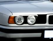 BMW 5 1988-1996 - (Е34) - Реснички на фары  к-т 2 шт. фото, цена