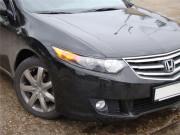 Honda Accord 2008-2013 - Реснички на фары, комплект 2 штуки, верхние, UA фото, цена