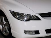 Honda Civic 2006-2013 - Реснички на фары, комплект 2 штуки, UA фото, цена