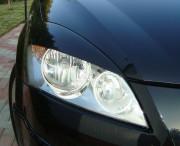 Kia Ceed 2006-2010 - Реснички на фары, комплект 2 штуки, широкие, UA фото, цена