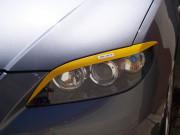 Mazda 3 2003-2008 - (Sed) - Реснички на фары  к-т 2 шт. (Длинные). фото, цена