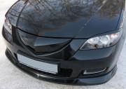 Mazda 3 2003-2009 - (Sed) - Реснички на фары  к-т 2 шт. (Короткие). фото, цена