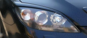Mazda 3 2003-2008 - (Htb) - Реснички на фары  к-т 2 шт. (Длинные). фото, цена