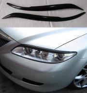 Mazda 6 2002-2007 - Реснички на фары  к-т 2 шт. (UA) фото, цена