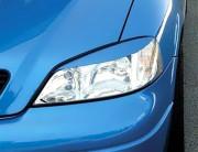 Opel Astra G 1998-2010 - Реснички на фары  к-т 2 шт. фото, цена