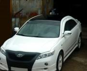 Toyota Camry 2006-2011 - Реснички на фары  к-т 2 шт (под покраску). (UA) фото, цена
