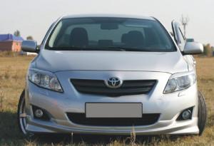 Toyota Corolla 2007-2010 - Реснички на фары  к-т 2 шт. фото, цена