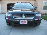 Volkswagen Passat 2001-2005 - Реснички на фары  к-т 2 шт. (Нижние). фото, цена