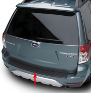 Subaru Forester 2008-2012 - Накладка на задний бампер. фото, цена