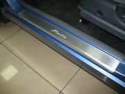 Daewoo Matiz 1997-2004 - Порожки внутренние к-т 4 шт. (НатаНико) фото, цена