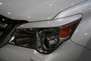 Lexus GX 2010-2013 - Реснички на фары  к-т 2 шт. (Под покраску). фото, цена