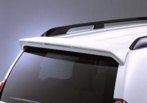 Toyota Land Cruiser Prado 2003-2008 - Задний спойлер со стопом. (Под покраску). (Toyota) фото, цена