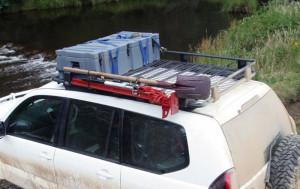 Toyota Land Cruiser Prado 2003-2008 - Экспедиционный багажник ARB (1790mm x 1120mm). фото, цена