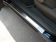 Chery Tiggo 2007-2010 - Порожки внутренние к-т 4 шт. (НатаНико) фото, цена