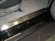Mitsubishi Pajero Sport 2005-2010 - Порожки внутренние к-т 4 шт. (НатаНико) фото, цена